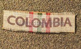 پخش دانه قهوه کلمبیا